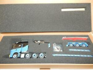 IMC TEKNO H2 INTERNATIONAL MERCEDES ARCOS WITH 3 AXLE LOW LOADER NB 1:50