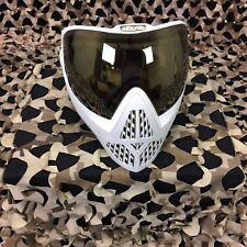 New Dye i5 Paintball Mask Goggle - White/Gold