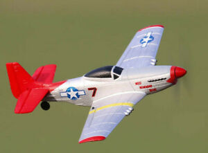 RC Plane: Mustang P-51 400 Ready To Fly 4-Ch RC Plane with Flight Stabilisation