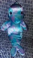 "Build A Bear BAB Sea Splash Dolphin Hand Puppet Tie Dye 17"" Plush Stuffed Animal"