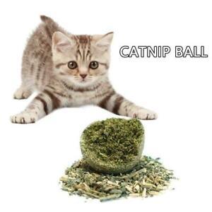 Cat Snack Catnip Ball Lick Nutrition Ball Help Digestion X3B2