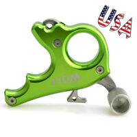 Compound Bow Release Aids Thumb Trigger 3 Finger Grip Caliper Archery Hunting
