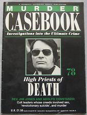 Murder Casebook Issue 78 - High Priests of Death, Jim Jones & Adolfo Constanzo