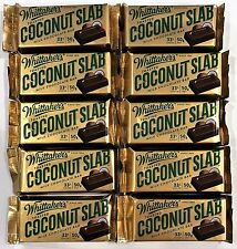 903329 10 x 50g BARS OF WHITTAKER'S TOASTED COCONUT SLAB MILK CHOCOLATE, NZ