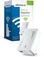 DEVOLO 9791 WIFI AC97 REPEATER RANGE EXTENDER WITH INTEGRATED 1 X ETHERNET PORT