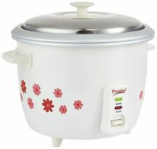 Prestige 700-Watts Delight Electric Rice Cooker with 2 Aluminium Cook