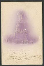 Gruss aus Berlin  Reliefkarte  1903