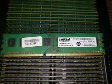 Crucial 8GB RAM CT102464BA160B DDR3-1600 PC3-12800 DIMM Non-ECC CL11