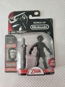 """World Of Nintendo Shadow Link 4"""" Figure The Legend Of Zelda Jakks Pacific"""