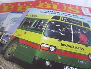 Classic Bus Magazine 5 copies 2003