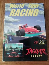 World Tour Racing (Atari Jaguar CD, 1997) Complete w/ Official Box & Manual RARE