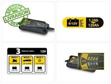 Auto7 708909 chargeur de batterie 4A 12V - 0,8A 6V - 100% automatique