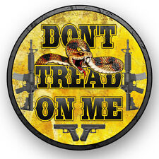 2nd Amendment Gadsden, Don't Tread on Me Sticker Decal, Gun Rights, NRA 2A USA