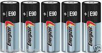 5 New Fresh Energizer E90 N LR1 MN9100 910A 1.5V Alkaline Batteries Exp 2022