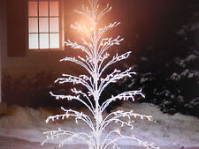 6  FT FOOT  LIGHTED INDOOR OUTDOOR CASCADE CHRISTMAS TREE 300 LIGHTS NEW AWSOME