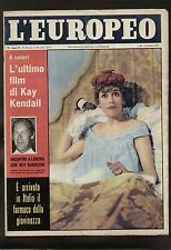 EUROPEO 42/1959 ZENITH KAY KENDALL YUL BRYNNER MAO KRUSCEV SPALLONE PARHON H.3
