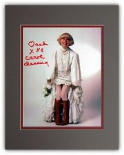 Carol Channing  Hello Dolly Autographed Matted Promotional Photo