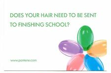 Hair Finishing School Postcard Pantene Pro File Haircare Personalized Sample