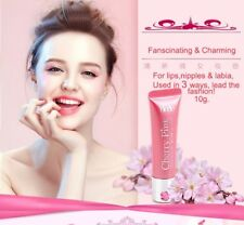 Bioglo Cherry Pink Lip Nipple Lightening Cream Lightens Dull Discolored Lips