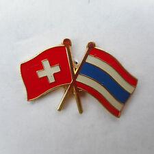 Switzerland -Thailand ,Thai,Suisse,Badge,Friendship,Pin,Schweiz