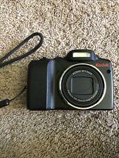 Kodak EasyShare Z915 10.0MP Digital Camera - Black Tested and Working