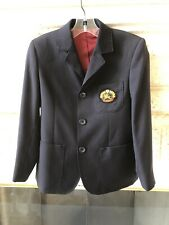 NWOT Burberry Boys Navy Blue Blazer Size 6
