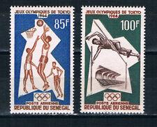 Senegal 1964 Air, Olympic Games, Tokyo **/MNH SG 283-4