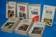 Lote 7 LIBROS -editorial Bruguera -años 70-observa los titulos