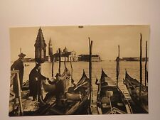 Venezia-Isola di St. Georg-GONDOLE/AK