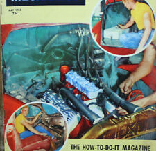 Vintage 1953 HOT ROD Custom Auto Magazine Flathead 1940 1931 Ford how to boats
