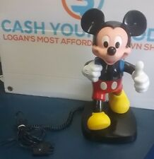 Disney Mickey Mouse Home Telephone Tyco Vintage