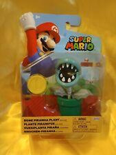 "World of Nintendo - Super Mario Bone Piranha Plant - 4"" Figure NEW"