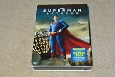 dVd Brand New SUPERMAN RETURNS w/64-Page Superman Book! Best Buy Exclusive