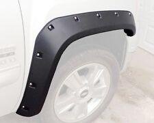 Chevrolet Silverado Pocket / Rivet Style Fender Flares.  2007-2013.  Short Bed