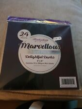 Hunkydory Marvellous Mirri Pads.delightful Darks card making