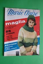 MARIE CLAIRE n.6/1960 MODA D'EPOCA FEMMINILE FASHION PAOLO FERRARI G.ALBERTAZZI