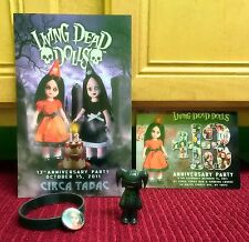LIVING DEAD DOLLS 13TH ANNIVERSARY PARTY BUNDLE PACK VHTF JINGLES FIGURINE