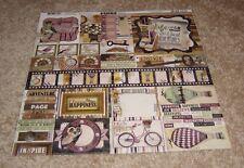 Bo Bunny 12x12 Combo Sticker Sheet ~ Beautiful Dreamer Collection