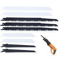 CB 10 Blade Reciprocating Saw Combo Wood Metal For Bosch Makita Dewalt