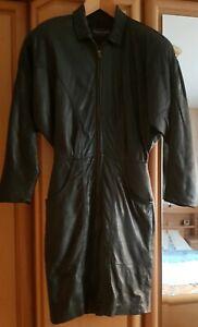 TeilExquisites Echtleder - Kleid mit Zweiwegereißverschluss (Zipper)(Gr.34