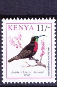 Scarlet-chested Sunbird, Birds, Kenya 1993 MNH