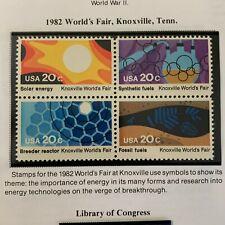 Scott # 2009a (2006-2009) Knoxville World's Fair Block of Four- MNH