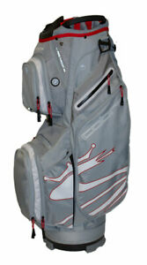COBRA UltraLight Cart Bag UL19 Quarry/Red   RRP £149