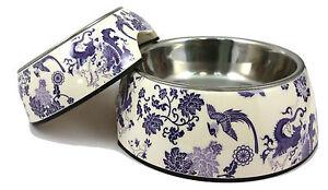 Dog Cat Pet Bowl China Porcelain Ceramic Melamine & Stainless-Steel Anti-Slip