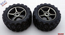 Traxxas E-Revo Brushless Wheels & Tyres - Brand New