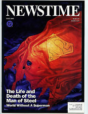 Newstime The Life and Death of Superman DC Comics 1993 H32