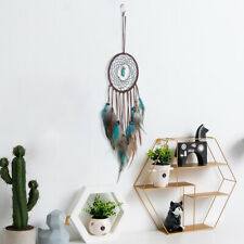 LED Light Dream Catcher Feathers Car Home Wall Hanging Bedroom Ornament Decor ZE