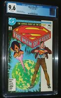 THE MAN OF STEEL #1 of 6 Superman 1986 DC Comics CGC 9.6 NM+