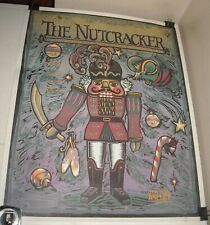 Rolled 1992 - 1993 Boston Ballet Nutcracker 100th Anniversary Poster Wang Center