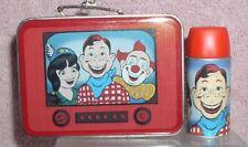 Howdy Doody Lunch Box and Thermos set of 2 Hallmark Keepsake ornaments 1999